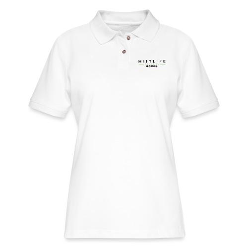 HLFLogosocial - Women's Pique Polo Shirt