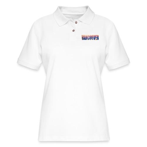Sweet Vancouver Tees - Women's Pique Polo Shirt