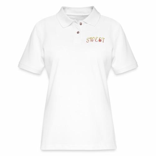 Sweet - Women's Pique Polo Shirt