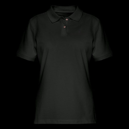 Black Divine Frequency - Women's Pique Polo Shirt