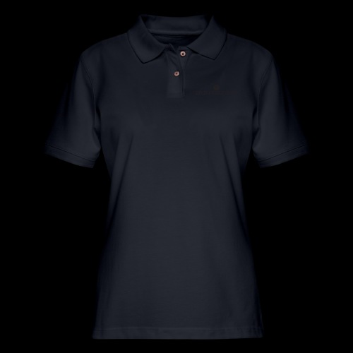 Black Divine Frequency - Women's Pique Polo Shirt