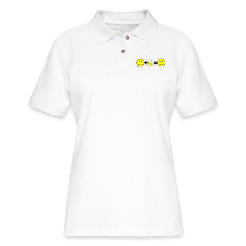 Beer: Liquid Happiness Men's 3XL/4XL Hooded Sweats - Women's Pique Polo Shirt