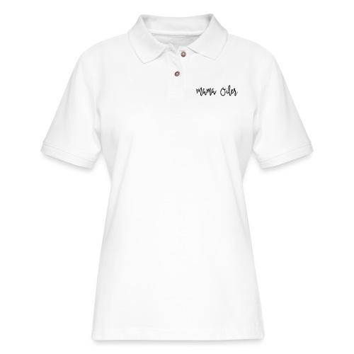 MamaOilerShirt - Women's Pique Polo Shirt