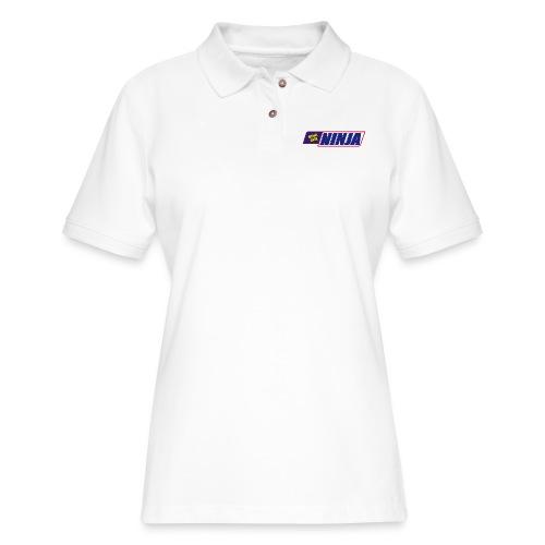 king size - Women's Pique Polo Shirt