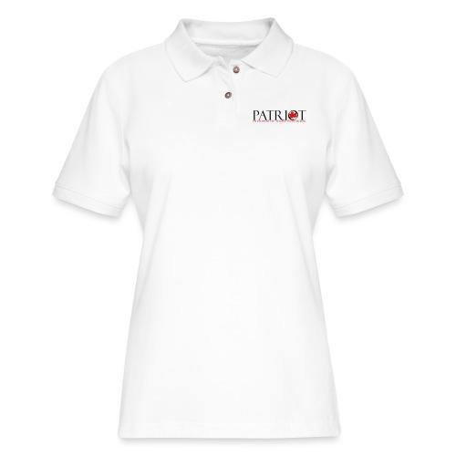 CDN PATRIOT_LOGO_1 - Women's Pique Polo Shirt