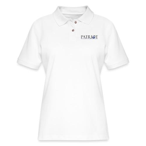 PATRIOT_SAM_USA_LOGO - Women's Pique Polo Shirt