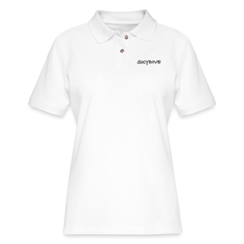 Skydive/BookSkydive - Women's Pique Polo Shirt