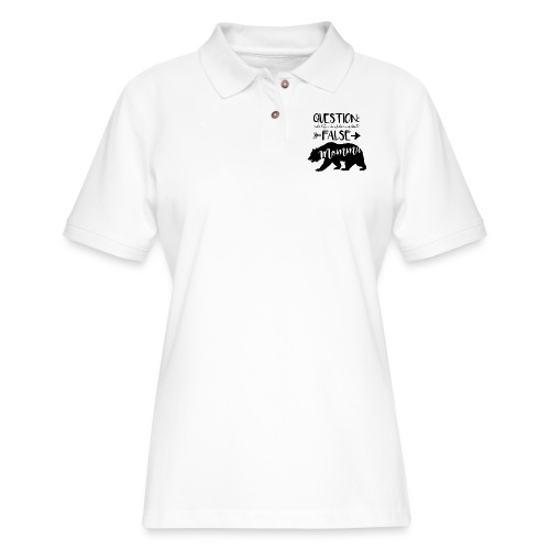 Momma Bear - Women's Pique Polo Shirt