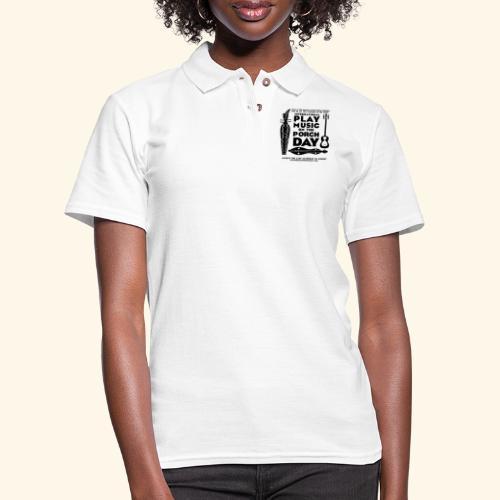 SAPEH_ SHIRT - Women's Pique Polo Shirt