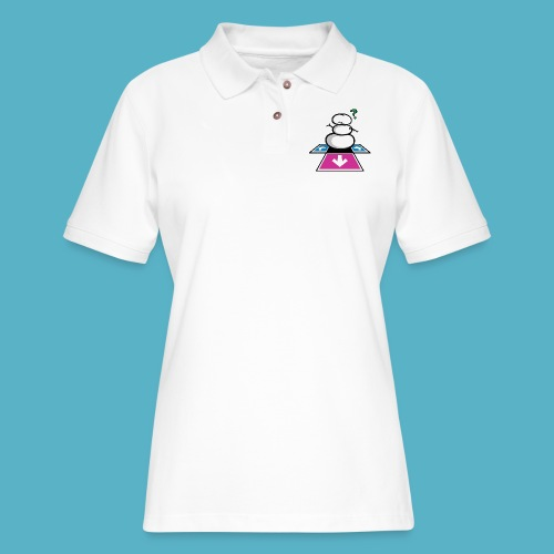 Chilling Realization - Women's Pique Polo Shirt