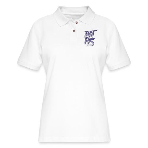 RGT 85 Logo - Women's Pique Polo Shirt