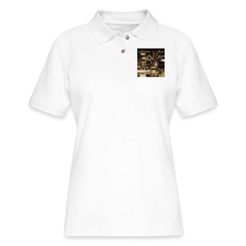 Mantis and the Prayer- Butterflies and Demons - Women's Pique Polo Shirt