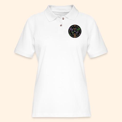 2017 Alchemical Flow - Women's Pique Polo Shirt