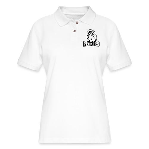 Peckers mug - Women's Pique Polo Shirt