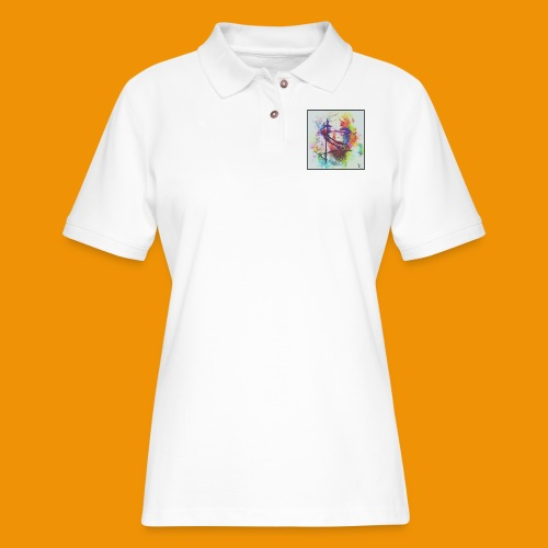 Trapped - Women's Pique Polo Shirt
