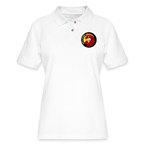 Hellfish - Flying Hellfish - Women's Pique Polo Shirt