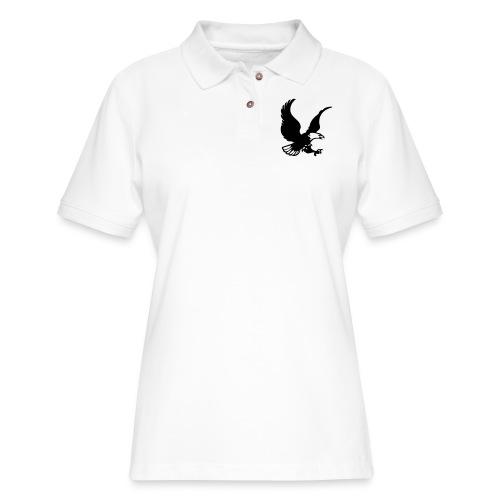 eagles - Women's Pique Polo Shirt
