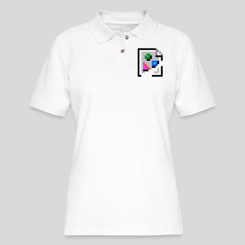 Broken Graphic / Missing image icon Mug - Women's Pique Polo Shirt
