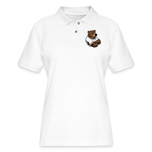 bear - Women's Pique Polo Shirt