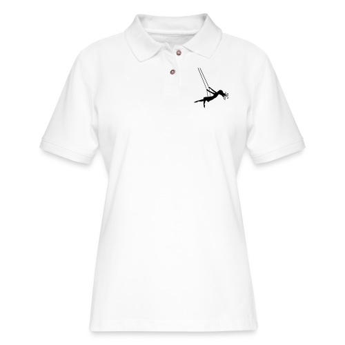 Swinging Girl - Women's Pique Polo Shirt