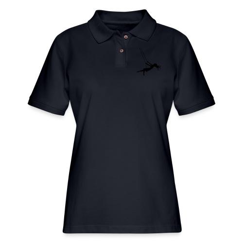 Swinging Girl - Women's Pique Polo Shirt