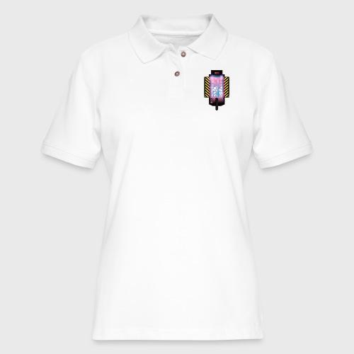 Ghostbusters Tetris Fair Use Mashup - Women's Pique Polo Shirt