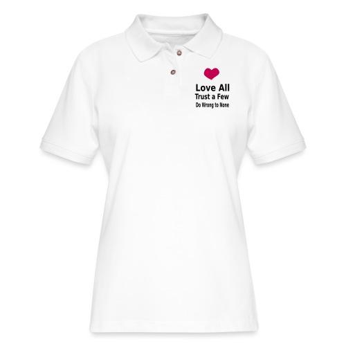 Love All - Women's Pique Polo Shirt