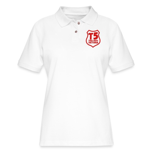 T5 tree worx shield - Women's Pique Polo Shirt