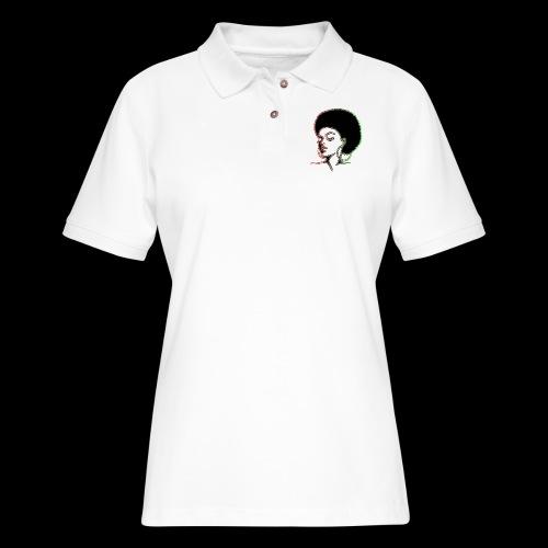 Afrolady - Women's Pique Polo Shirt