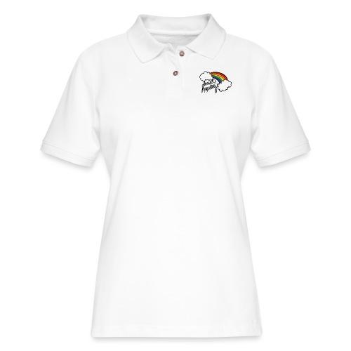 Social Anxiety - Women's Pique Polo Shirt