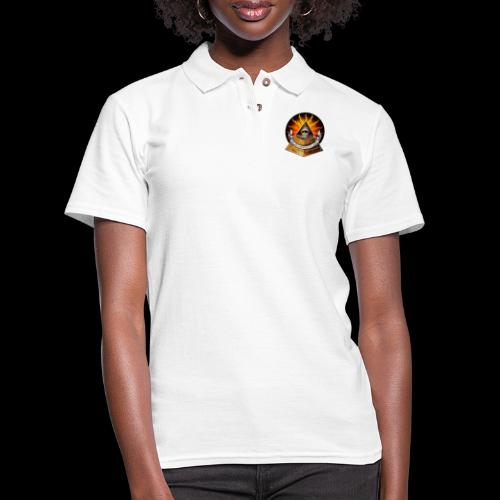 WHAT? THIS? IT'S FREE BY JOINING THE ILLUMINATI! - Women's Pique Polo Shirt