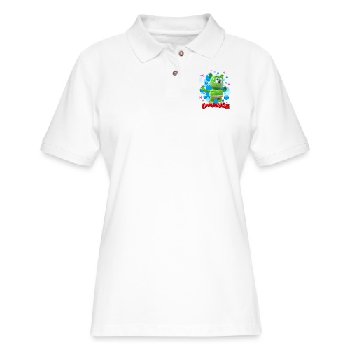 Gummibär Bubbles - Women's Pique Polo Shirt