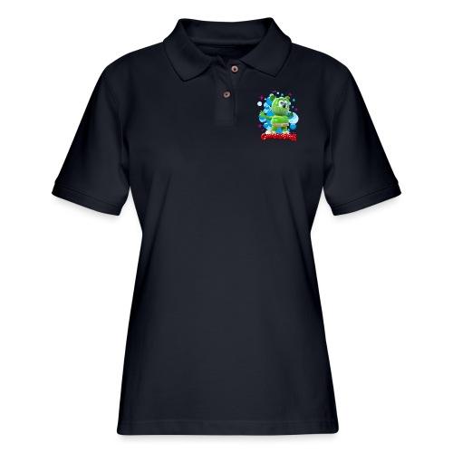 Gummibär Bubbles - Women's Pique Polo Shirt