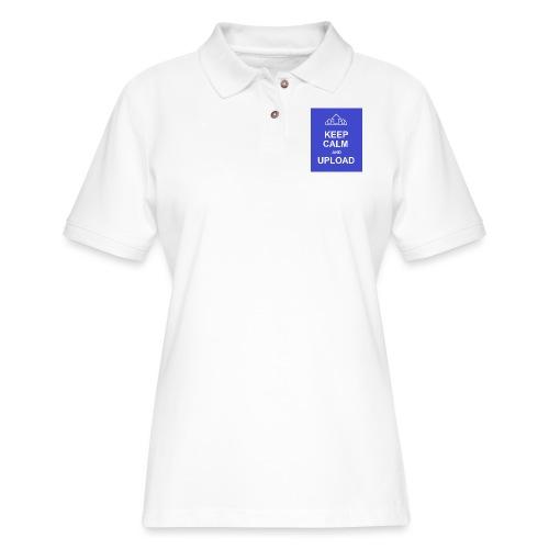 RockoWear Keep Calm - Women's Pique Polo Shirt