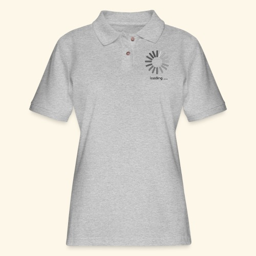 poster 1 loading - Women's Pique Polo Shirt