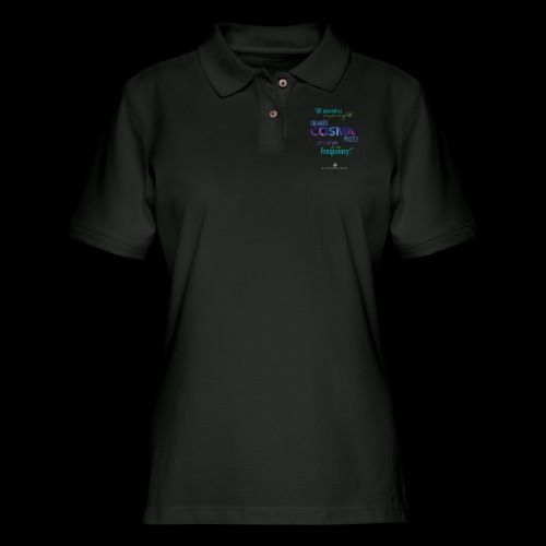 Cosmic Puzzle Mug - Women's Pique Polo Shirt