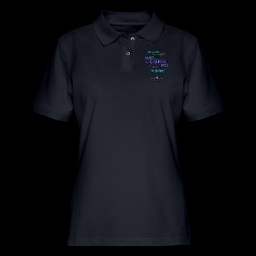 Cosmic Puzzle Mug - Women's Pique Polo Shirt