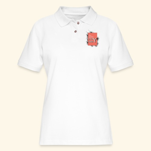 free advice - Women's Pique Polo Shirt