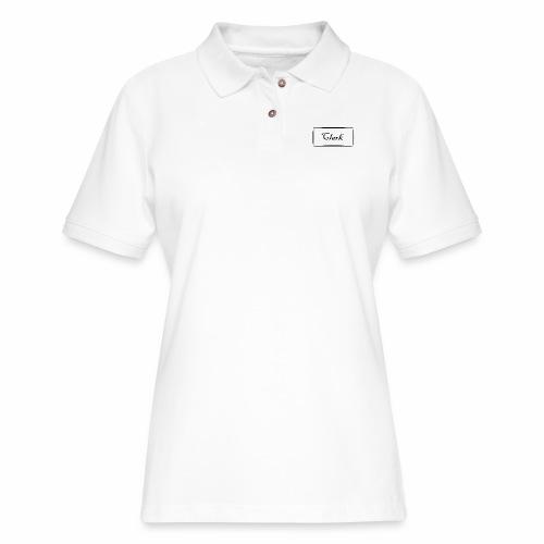 Clark - Women's Pique Polo Shirt