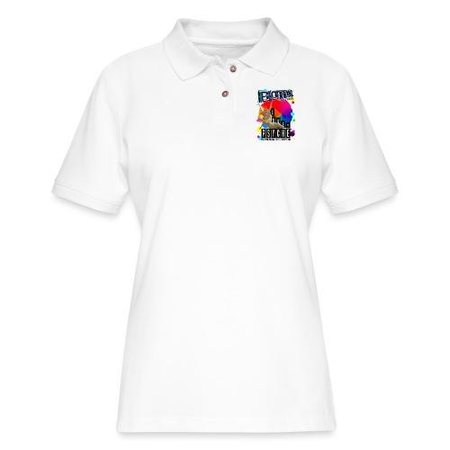 BOTOX MATINEE LOVE & PSYCHE T-SHIRT - Women's Pique Polo Shirt