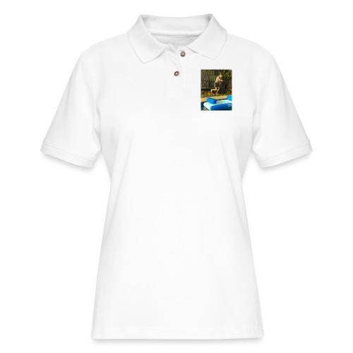 jump clothing - Women's Pique Polo Shirt
