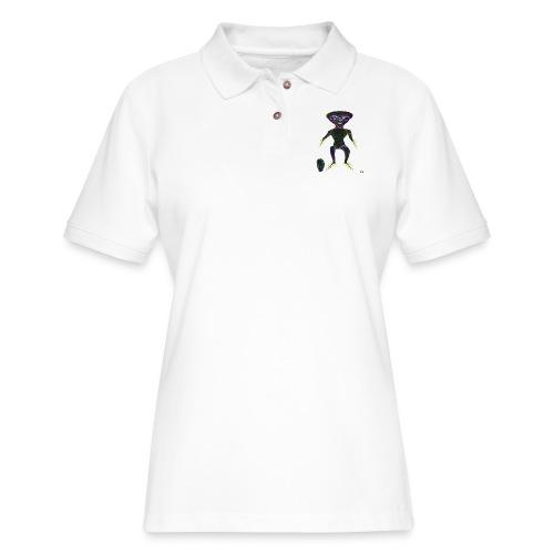 AlienToe - Women's Pique Polo Shirt