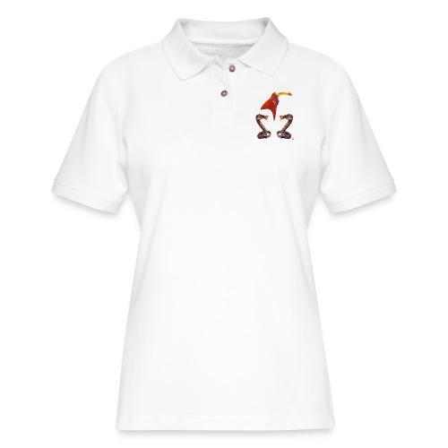 Bad A Trio - Women's Pique Polo Shirt