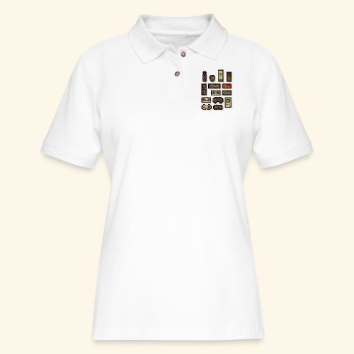 pixelcontrol - Women's Pique Polo Shirt