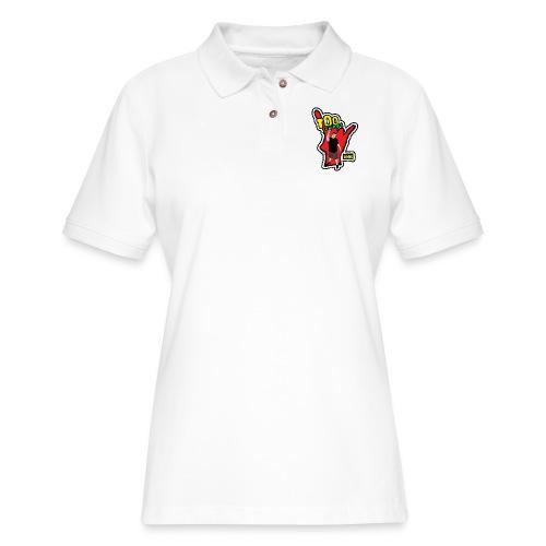Wreckless Eating Too Sweet Shirt (Women's) - Women's Pique Polo Shirt