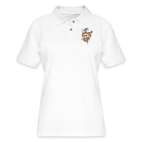 Seahorses Forever - Women's Pique Polo Shirt