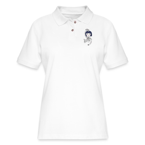 Milk and cereals in the morning - Women's Pique Polo Shirt