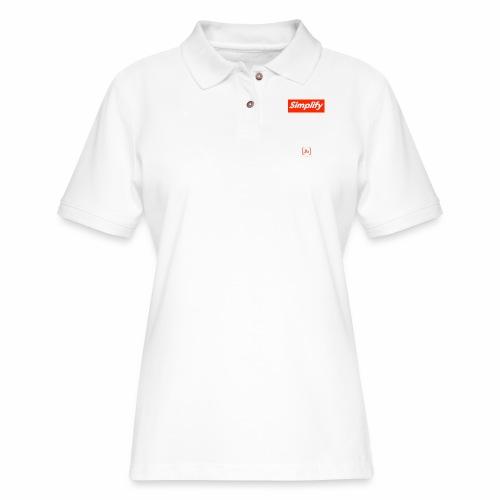 Simplify [fbt] - Women's Pique Polo Shirt
