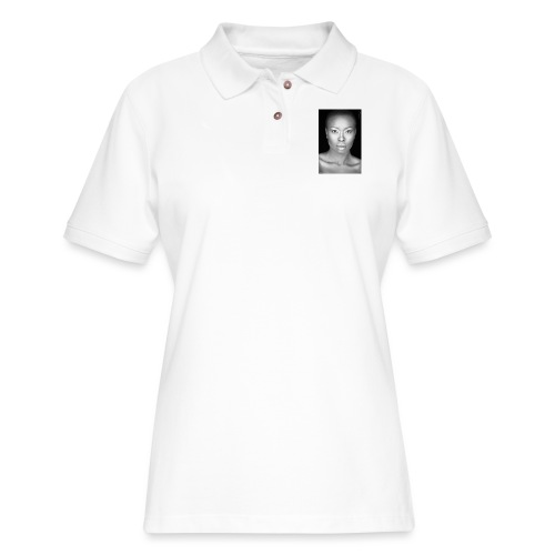 Brave : By Alüong Mangar - Women's Pique Polo Shirt