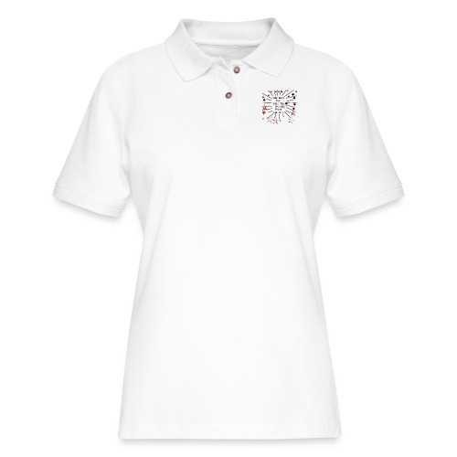 Your Love Can Stop The World From Spinning - Women's Pique Polo Shirt